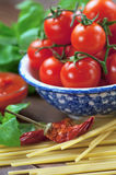 Mediterranean diet ingredients Stock Photography