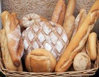 Mediterranean diet - Spanish artesanal breads Royalty Free Stock Photo