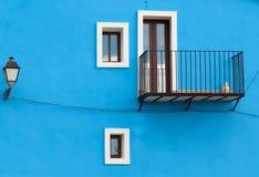 Mediterranean façade Royalty Free Stock Image