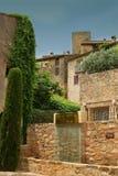 Mediterranean façades Royalty Free Stock Photo