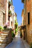 Mediterranean façades Royalty Free Stock Photos