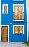 Mediterranean facade Stock Images
