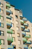 Mediterranean facade royalty free stock photography