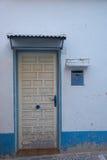 Mediterranean facade detail royalty free stock photo