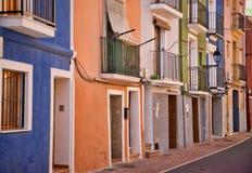 Mediterranean facade stock photo