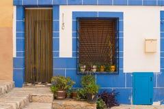 Mediterranean facade royalty free stock photo