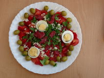 Mediterranean feast Royalty Free Stock Photography
