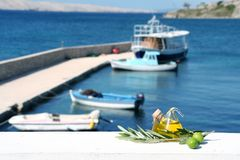 Mediterranean Feeling 4 stock images