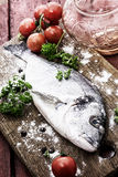 Mediterranean fish delicacy Dorado Royalty Free Stock Photo
