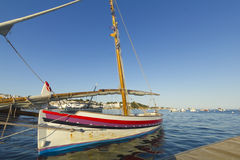 Mediterranean fishing boat. Stock Photos