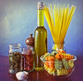 Mediterranean flavours Stock Images