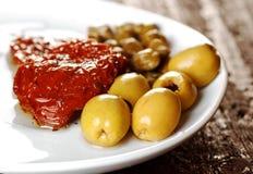 Mediterranean food Stock Photos