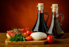 Mediterranean food Royalty Free Stock Image