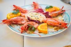 Mediterranean food Royalty Free Stock Photo