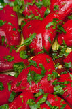 Stuffed Roasted Peppers Royalty Free Stock Image