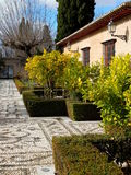 Mediterranean Formal Garden Royalty Free Stock Photos