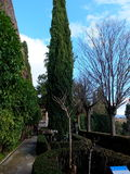 Alhambra Mediterranean Formal Garden Stock Image