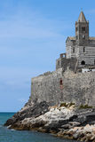 Mediterranean fortress Royalty Free Stock Photography