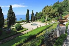 Mediterranean gardens Stock Photo