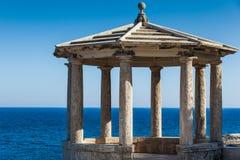 Mediterranean gazebo Stock Photo
