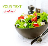 Mediterranean Greek Salad Royalty Free Stock Photo
