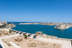 Mediterranean harbour of Malta Royalty Free Stock Photos