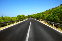 Mediterranean highway Royalty Free Stock Photography