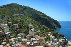 Mediterranean hill Stock Image
