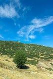 Mediterranean hill Stock Photo