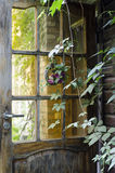 Mediterranean Home. Gate to a mediterranean home in harmony with nature, rustic style Stock Images