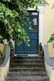 Mediterranean Home. Gate to a mediterranean home in harmony with nature Stock Photos