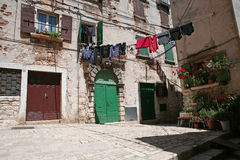 Mediterranean house Royalty Free Stock Image