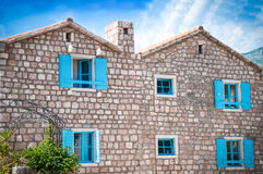 Mediterranean house royalty free stock images