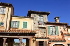 Mediterranean house Stock Image