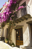 Mediterranean house. Costa Brava, Catalonia, Spain Royalty Free Stock Photo