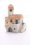 Mediterranean house craft. Typical croatian house craft souvenir Royalty Free Stock Images