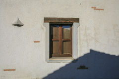 Mediterranean house. Door and window Royalty Free Stock Photography
