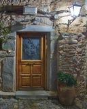 Mediterranean house entrance Royalty Free Stock Photos