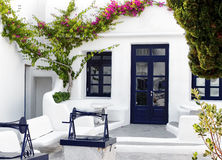 Mediterranean house Stock Photos
