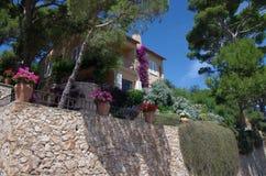 Mediterranean house Stock Photography