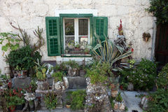 Mediterranean house stock images
