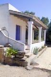 Mediterranean house white mediterranean Stock Images