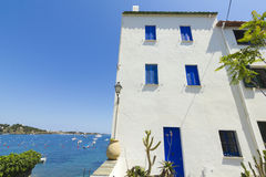 Mediterranean house Stock Photo