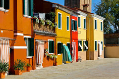Mediterranean houses Royalty Free Stock Photos
