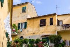 Mediterranean houses Stock Photos