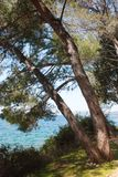 Mediterranean idyllic view Stock Photos