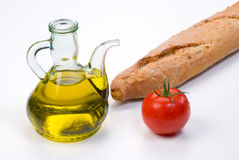 Mediterranean ingredients Royalty Free Stock Photo