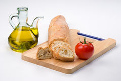 Mediterranean ingredients Royalty Free Stock Photography