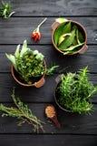 Mediterranean ingredients Stock Image