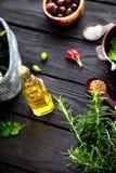 Mediterranean ingredients Stock Photography